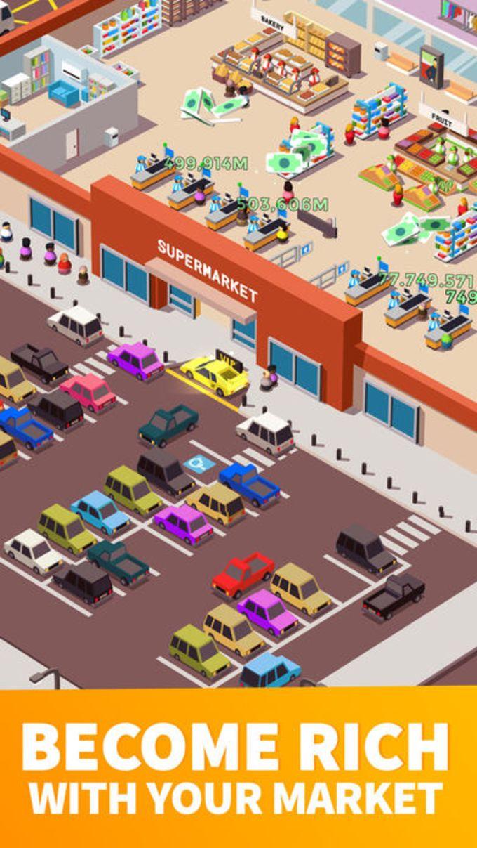 Idle Supermarket Tycoon - Shop