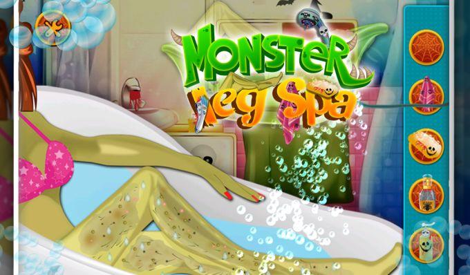 Monster Leg Spa - Girls Game