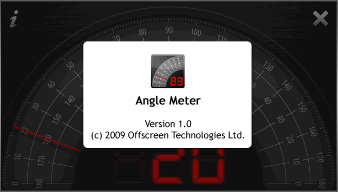 Angle Meter Touch