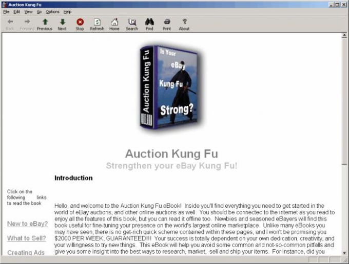 Auction Kung Fu