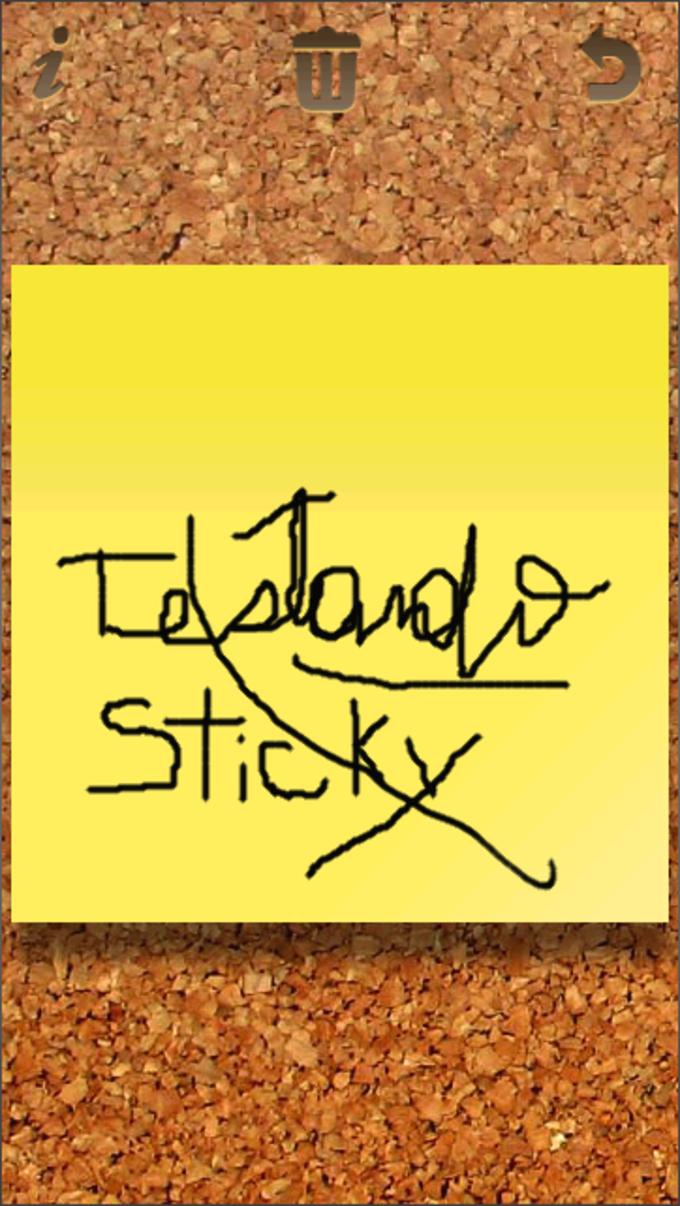 Sticky Notes Touch