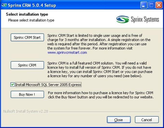 Sprinx CRM