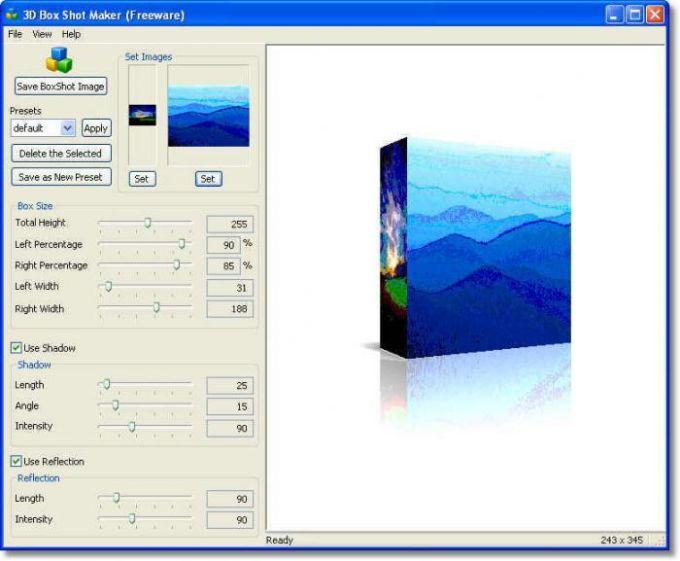 3D Box Shot Maker