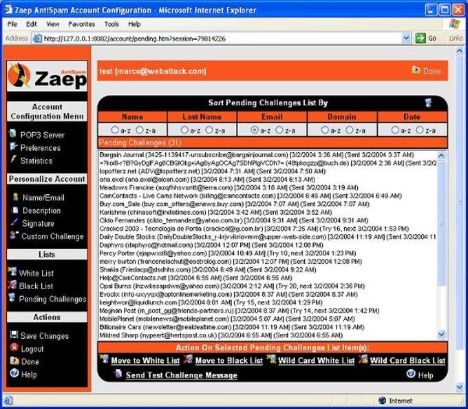 Zaep AntiSpam