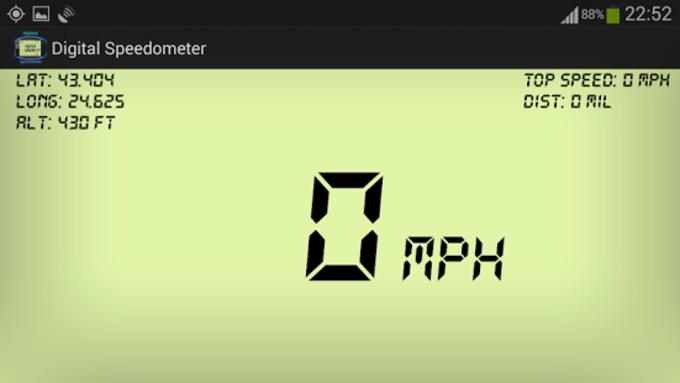 Velocímetro digital GPS