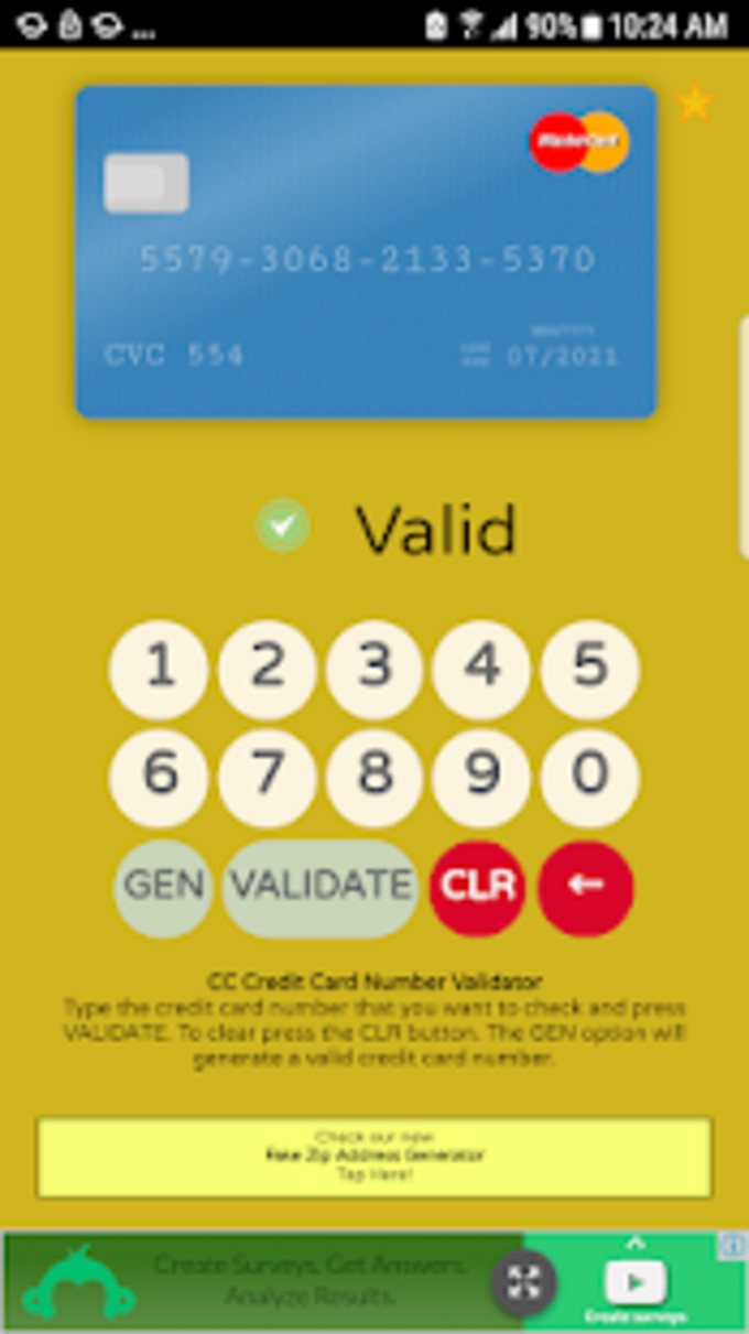 CardCheck  Ultimate Credit Card Checker Generator