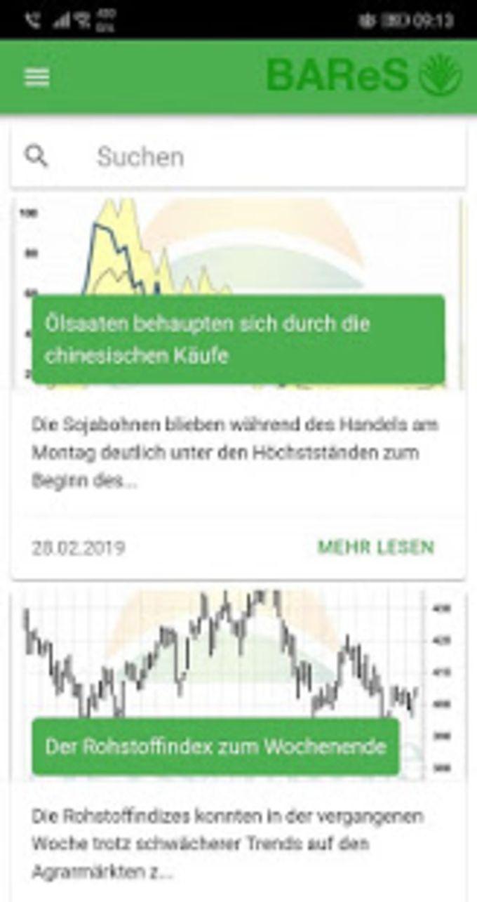 BAReS - Regionale Marktinformationen in Echtzeit