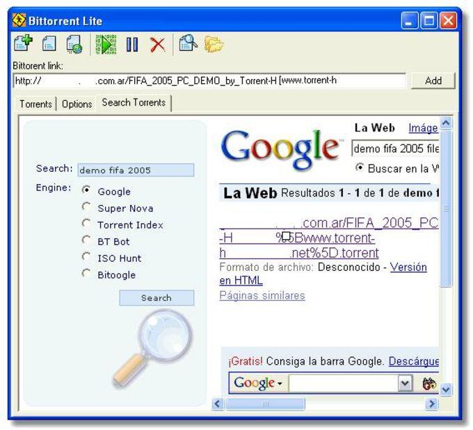 BitTorrent Lite