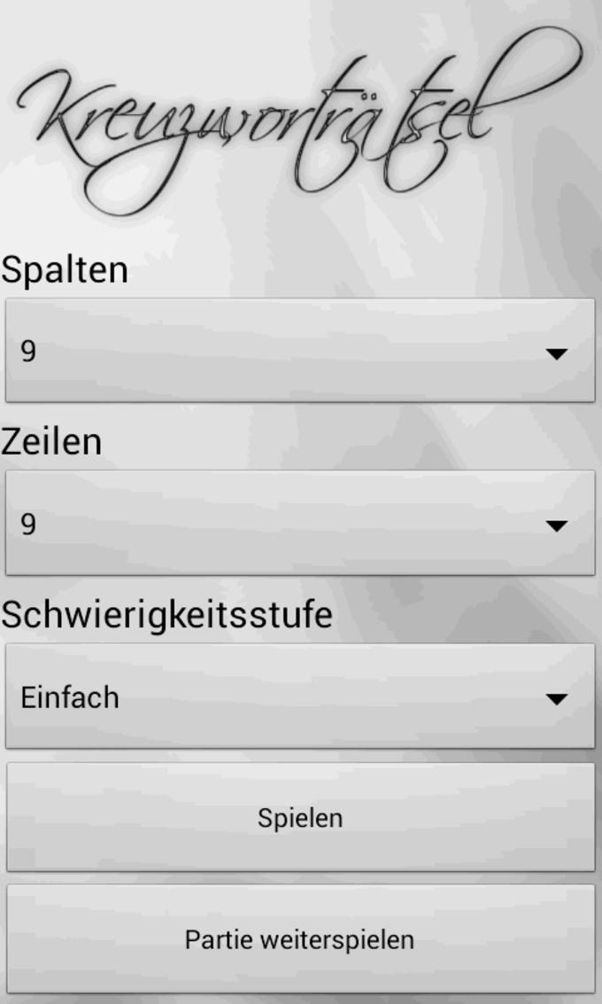 Crucigramas en alemán