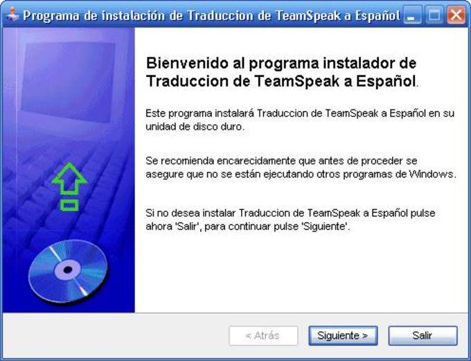 Traducción de TeamSpeak a Español
