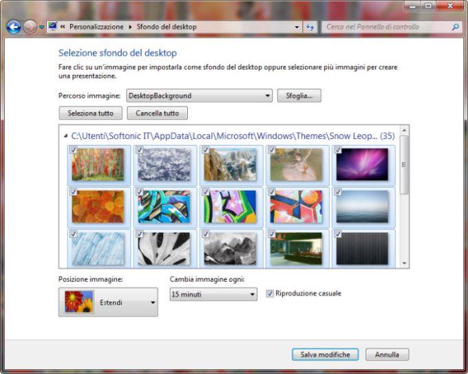 Thème Mac OS X Snow Leopard pour Windows 7