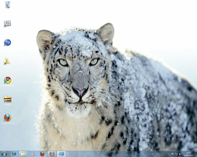 Mac OS X Snow Leopard Theme