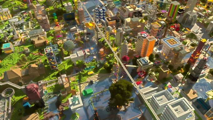 Minecraft Landschaften Wallpaper