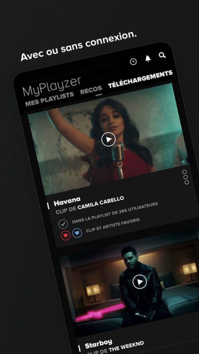 Playzer Music – clips vidéo