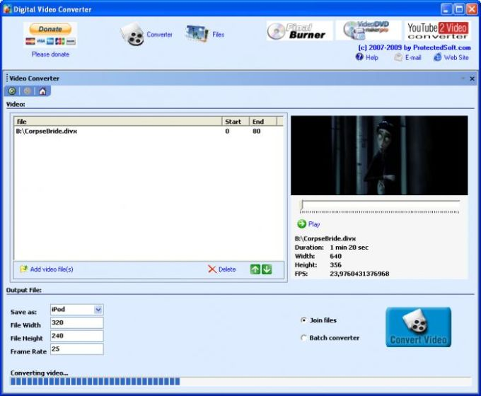 Digital Video Converter