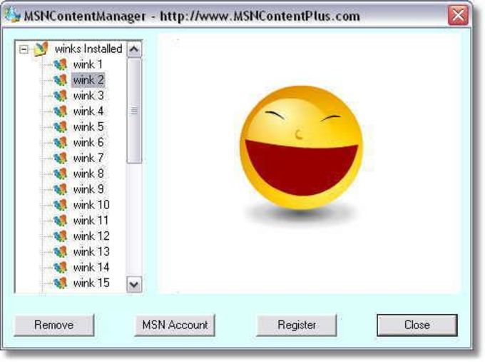 MSN Content Manager