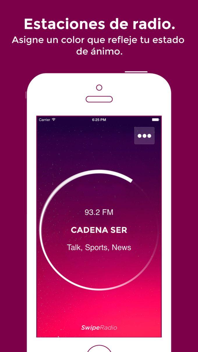 SwipeRadio - Escucha tus emisoras favoritas: Noticias, deportes, música, programas de entrevistas