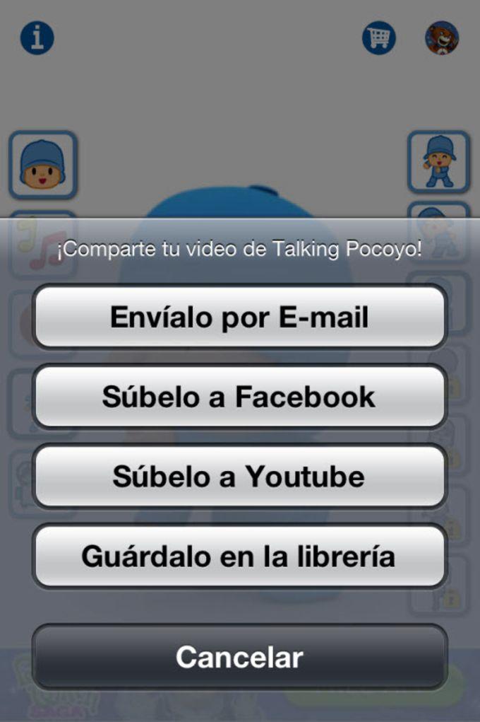 Talking Pocoyó Gratis