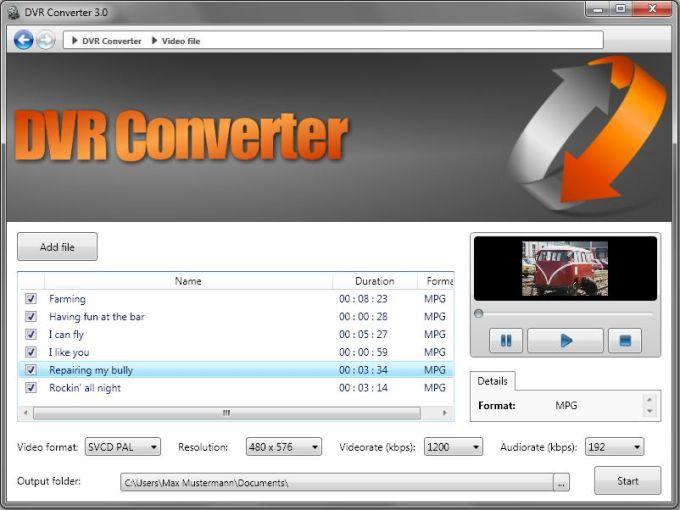 DVR Converter