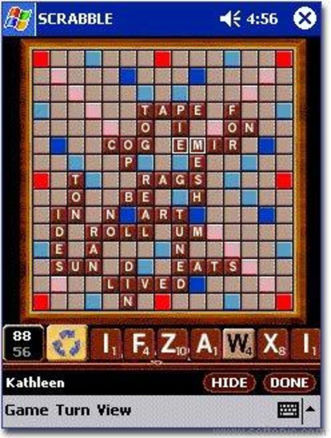Scrabble für Pocket PC - Download