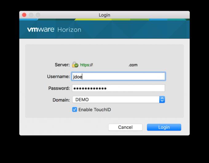 VM Horizon Client