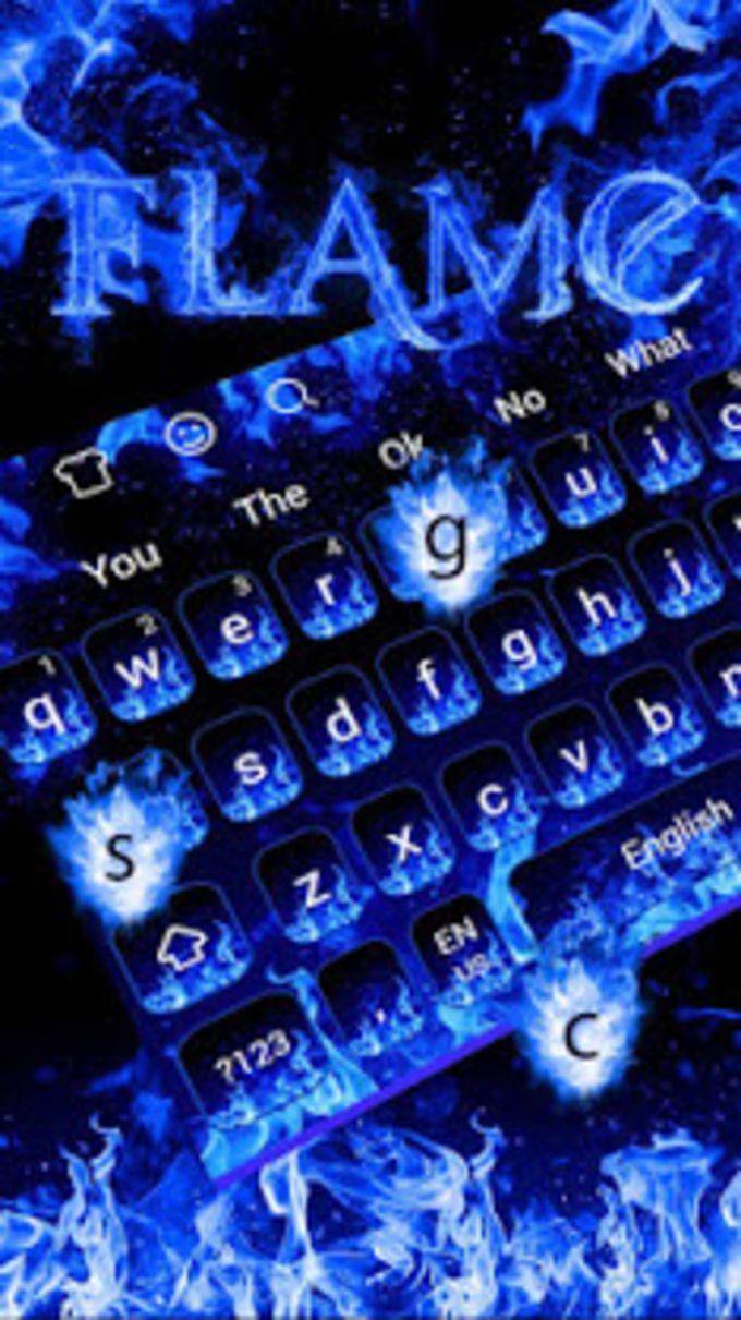 Blue Flame Keyboard