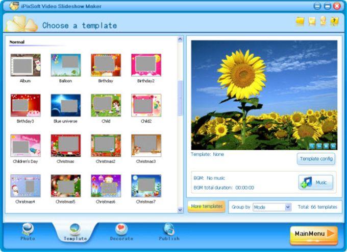 iPixSoft Video Slideshow Maker