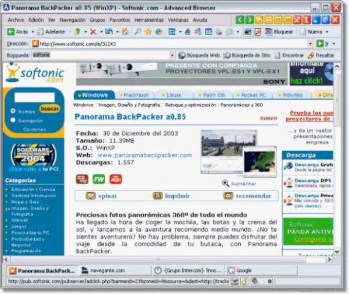 Advanced Browser