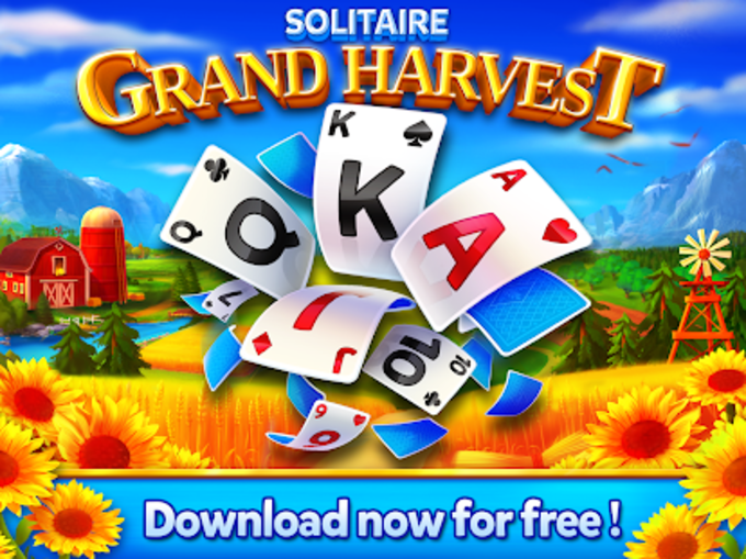 Solitaire - Grand Harvest - Tripeaks