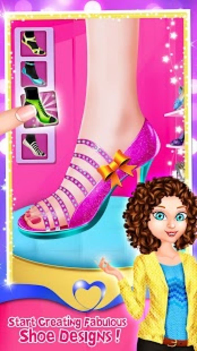 High Heels Fashion Shoe Designer