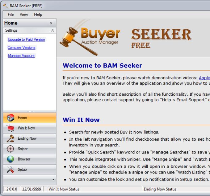 BAM Seeker