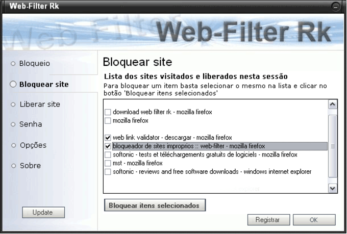 Web Filter RK