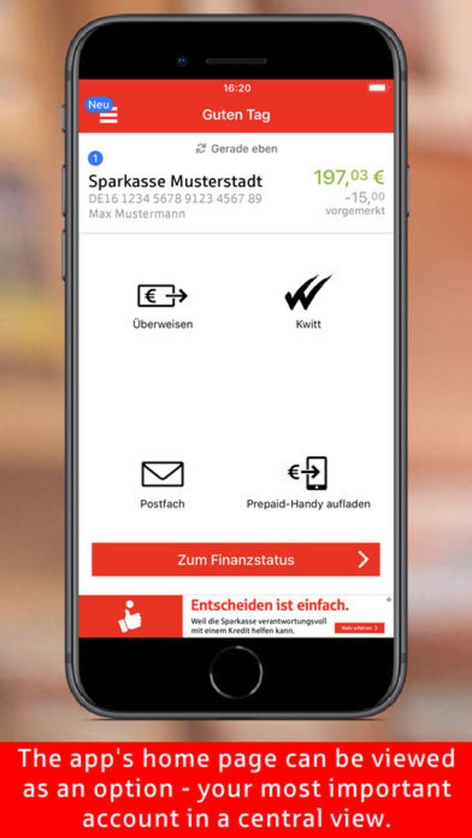 Sparkasse  Ihre mobile Filiale
