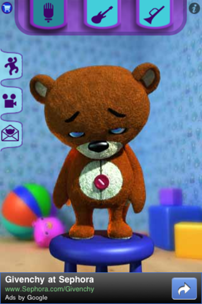 Playing Teddy Bear