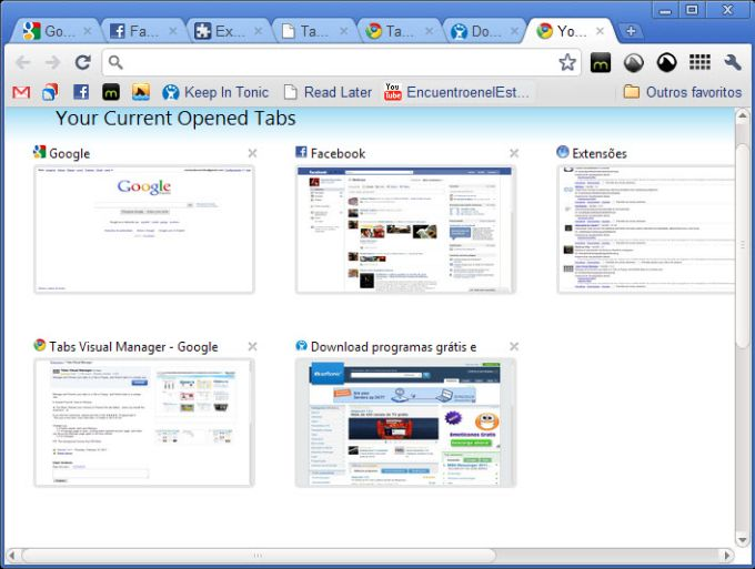 Tabs Visual Manager