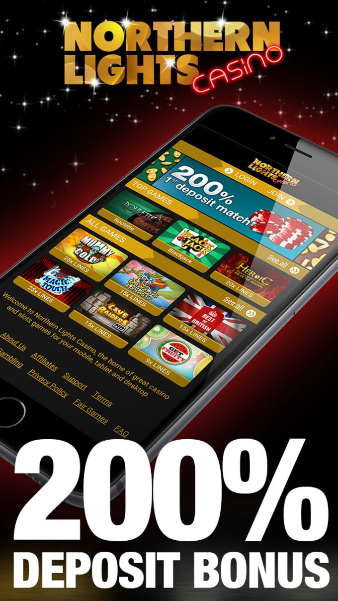 Northern Lights Casino - Slots, Blackjack & Roulette
