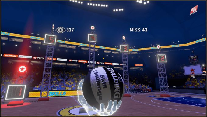 NBA 2KVR Experience PS VR PS4