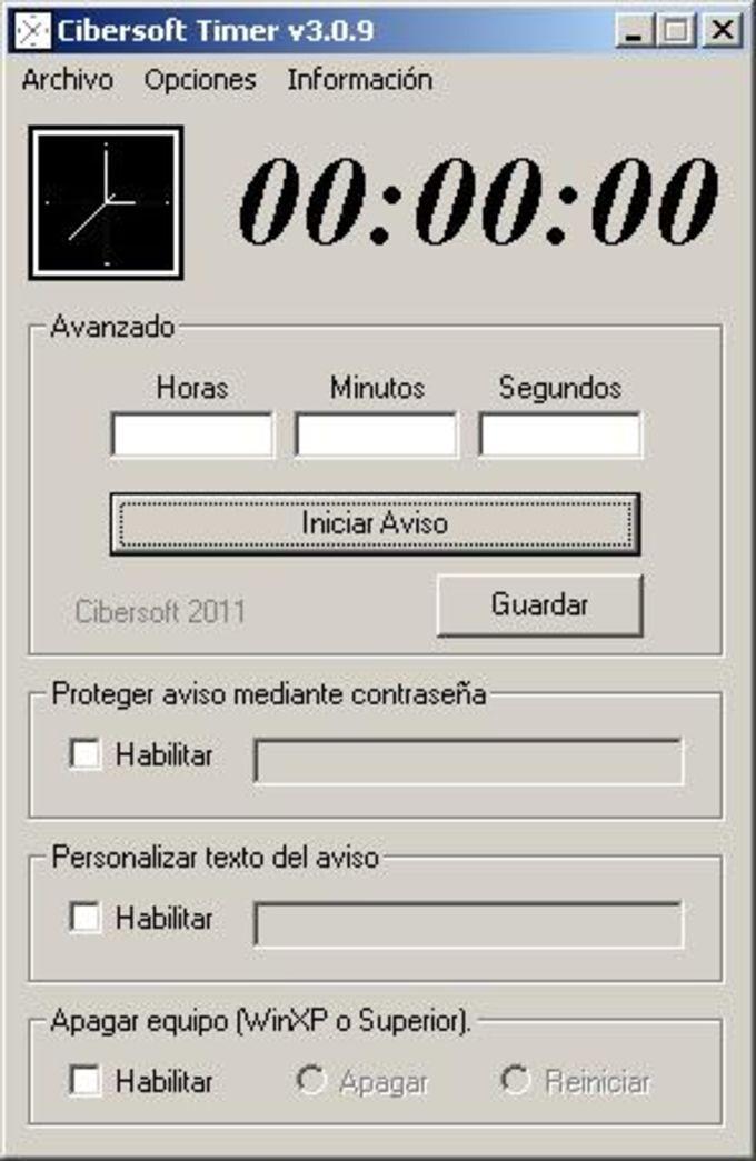 Cibersoft Timer