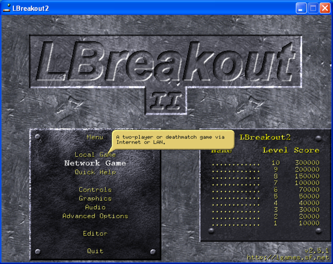 LBreakout2