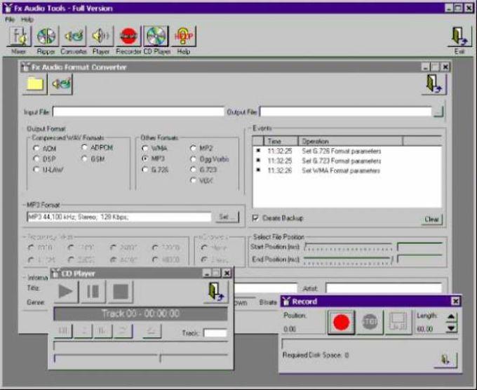 Fx Audio Tools