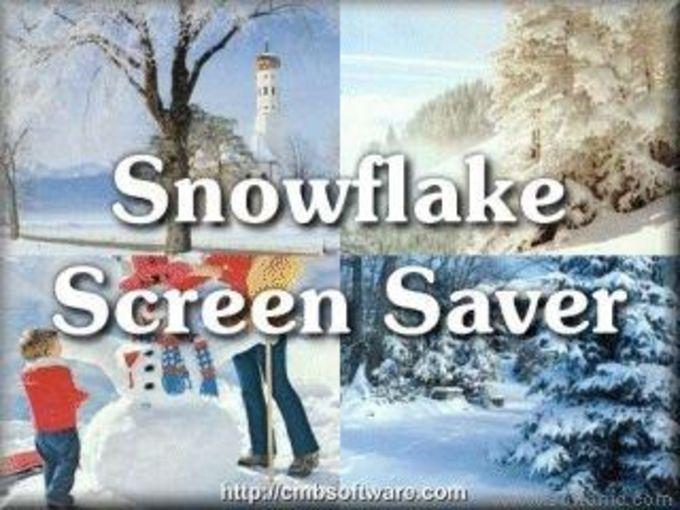 Snowflake Screen Saver