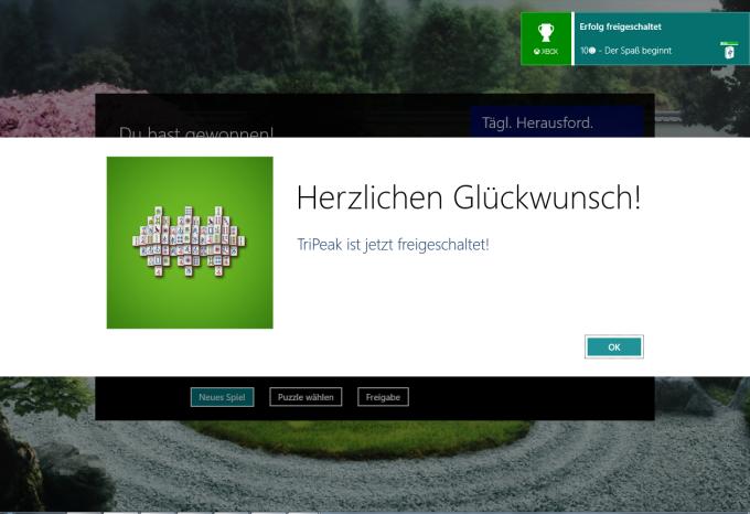 Microsoft Mahjong für Windows 10