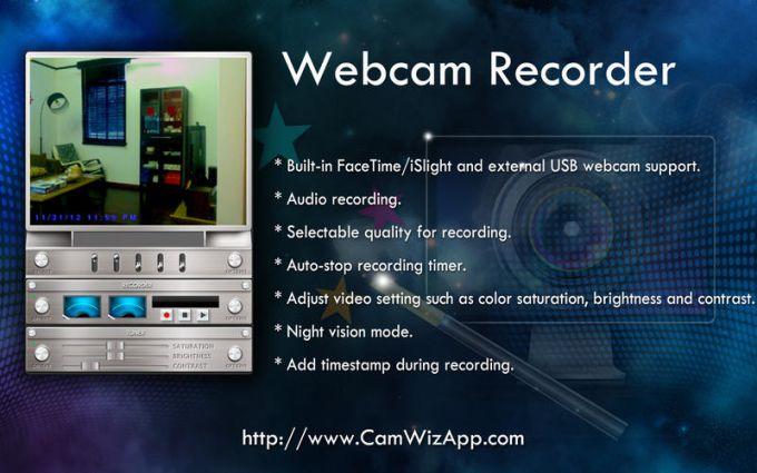 CamWiz Webcam Recorder