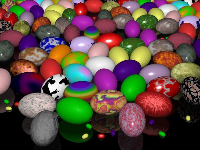 Easter Eggs Wallpaper