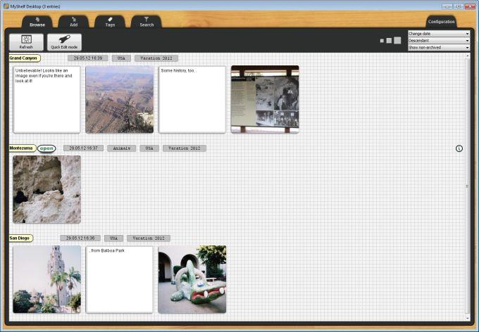 MyShelf Desktop Portable