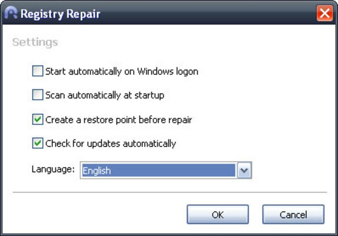 Glary Registry Repair
