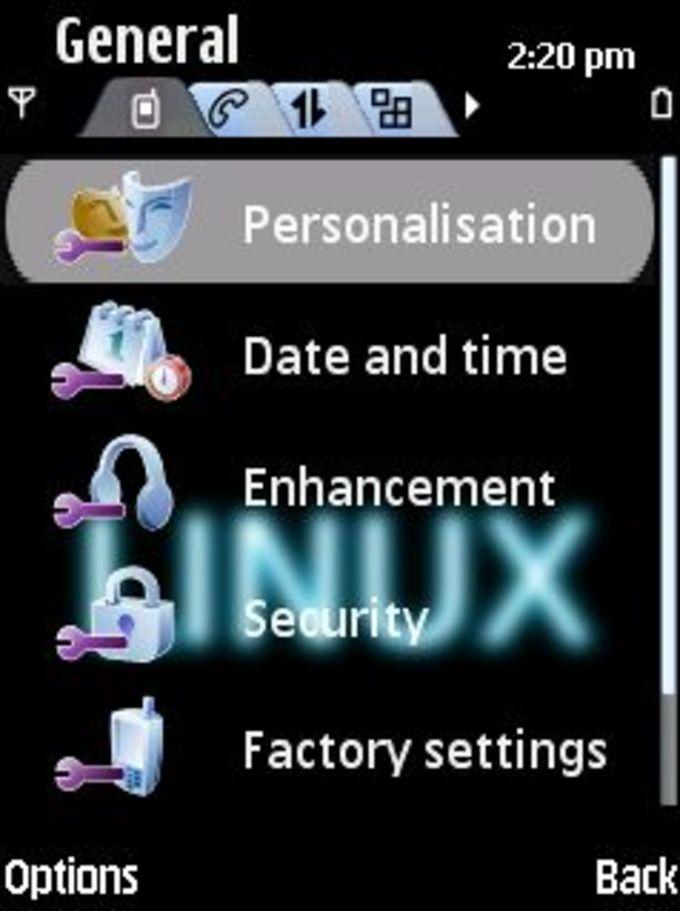 Dark Linux Theme