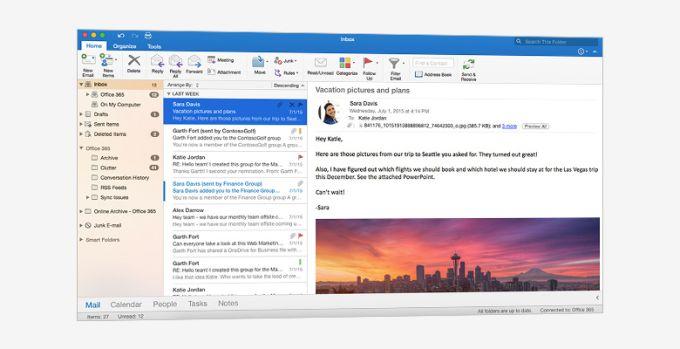 Office Hogar y Empresas 2016 para Mac