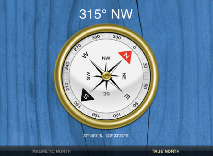 Compass for iPad
