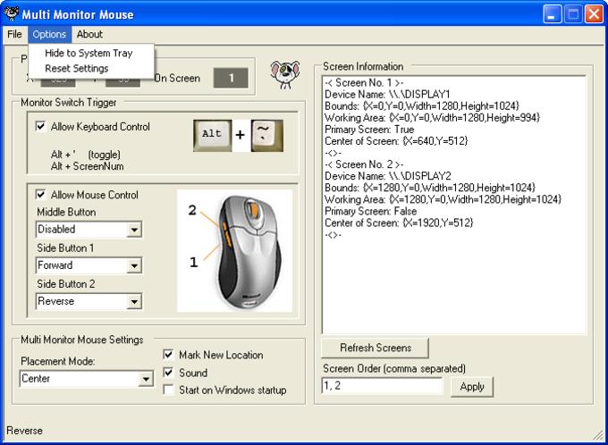 Multi-Monitor Mouse